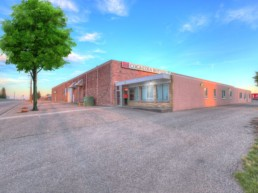 Industrial location of one of the Melcor REIT Properties., located in Lethbridge.
