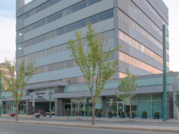 Princeton Place building owned by the Melcor REIT, located downtown Edmonton